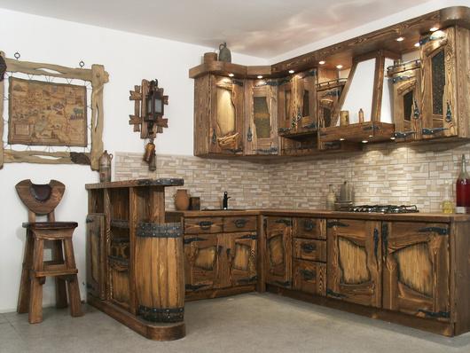 Изделия для кухни из дерева фото