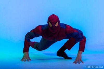 Человек паук видео с людьми праздники