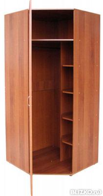 Угловой платяной шкаф св438 от компании мебель 812 купить в .