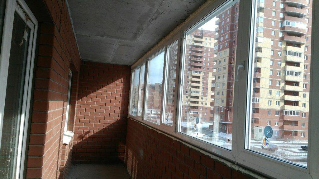 Балкон 7 метров 3 створки пов/откидные от компании уют и теп.