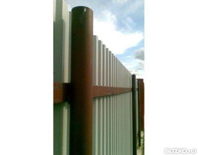 стоимость квадратного столба на забор 100 Среди