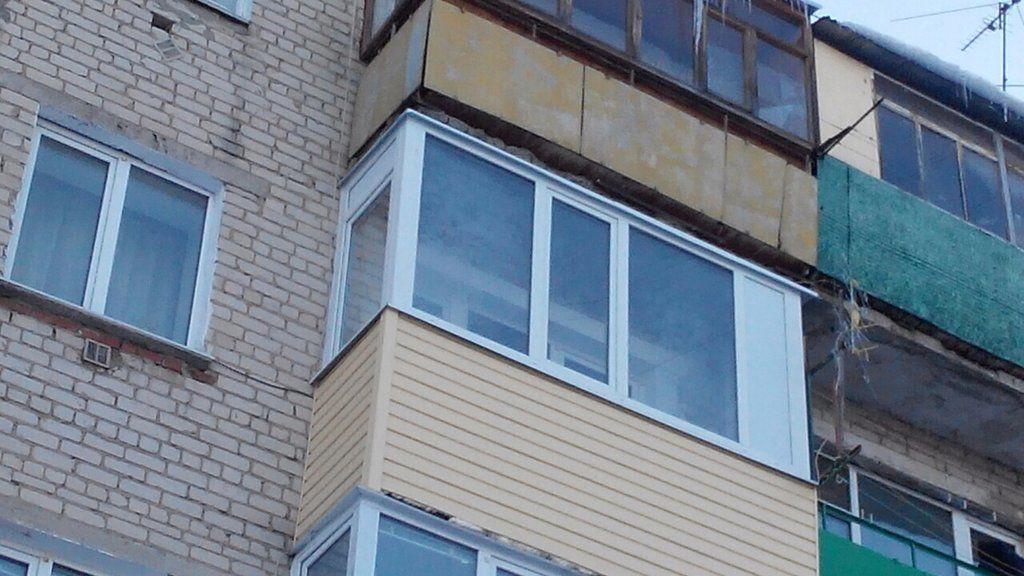 Наружная обшивка балкона сайдингом в тюмени - на портале bli.