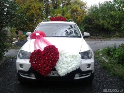 Украшение на машину хабаровск