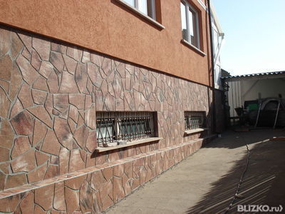 Технология нанесения штукатурки короед на фасад