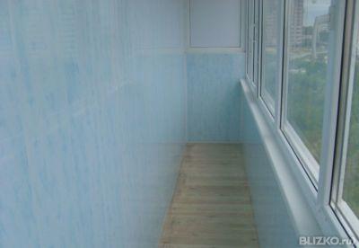 Остекление балкона + внутренняя обшивка в тюмени - на портал.