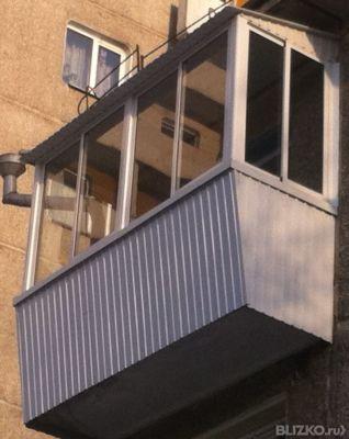 Балкон 3 метра выносной от компании гринлайн купить в городе.