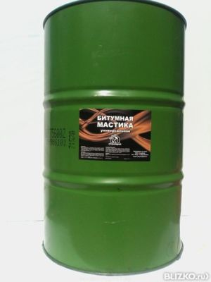 Битумная мастика поставка бочки может ли мастика мг 5 иметь черный цвет