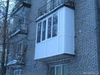 Остекление балконов теплым остеклением, сравнить цены в Челя.