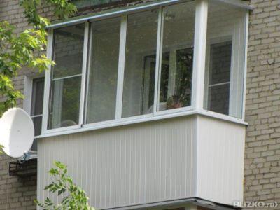Остекление балконов и лоджийprovedal в новосибирске - на по.