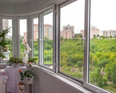 Остекление балкона и лоджиипод ключ утепление в новосибирск.
