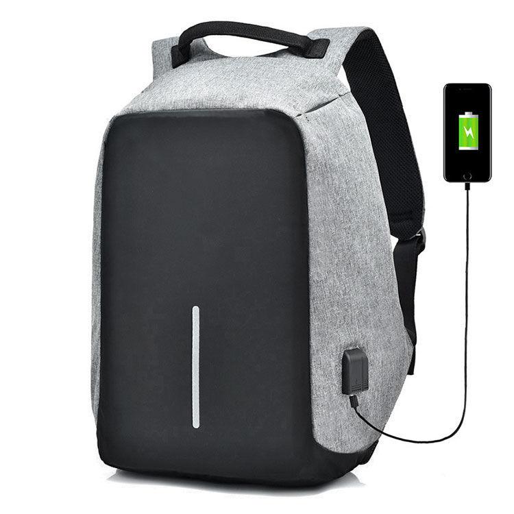 1d9cd1a529be Городской рюкзак АнтиВор XD Design Bobby (серый)