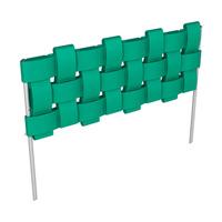 Комплект «Декоративный заборчик «Плетенка» Зеленый ЭкоПром СПб